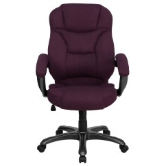 Microfiber Office Chair Personalized Kid Chairs High Back Grape Upholstered Contemporary