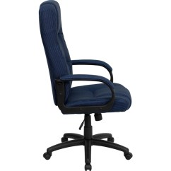 Navy Office Chair Baby Food Mothercare High Back Fabric Executive Bt 9022 Bl Gg
