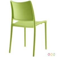 Hipster Contemporary Stackable Plastic Dining Side Chair ...
