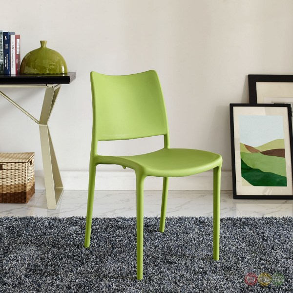 Contemporary Dining Chair Green