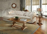 Karlee Linen Upholstery Traditional Cottage Style ...
