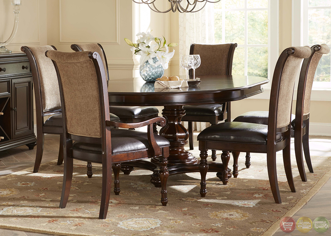 Kingston Plantation Oval Table Formal Dining Room Set