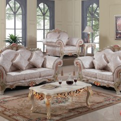 Traditional Sofa Sets Living Room Flip Flop Sleepers Luxurious Victorian Formal Set