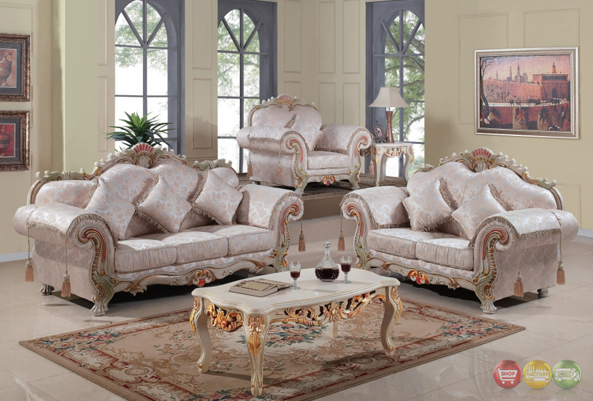 Luxurious Traditional Victorian Formal Living Room