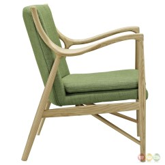 Wood Frame Chair Buy Covers Ireland Makeshift Modern Upholstered Lounge With Ash