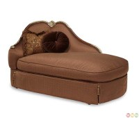 Michael Amini The Sovereign Chaise Lounge with Matching ...