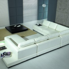 Modern Sectional Sofas Mississauga Article 72 Sofa Agreement White Bonded Leather T35