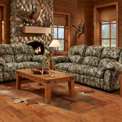 Camo Recliner Chair Air Ski Mossy Oak Camouflage Reclining Motion Sofa Loveseat