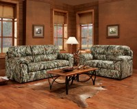 Mossy Oak Camouflage Sofa & Loveseat Duck Hunting Living ...