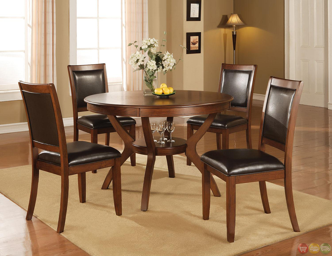 chairs at rooms to go grey weave garden 2 nelms walnut finish casual 5 piece dining room set