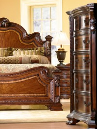 Old World Traditional European Style Bedroom Furniture Set ...
