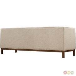 Panache Sofa Set Small Sectional Phoenix Mid Century Modern 2pc Upholstered And Armchair