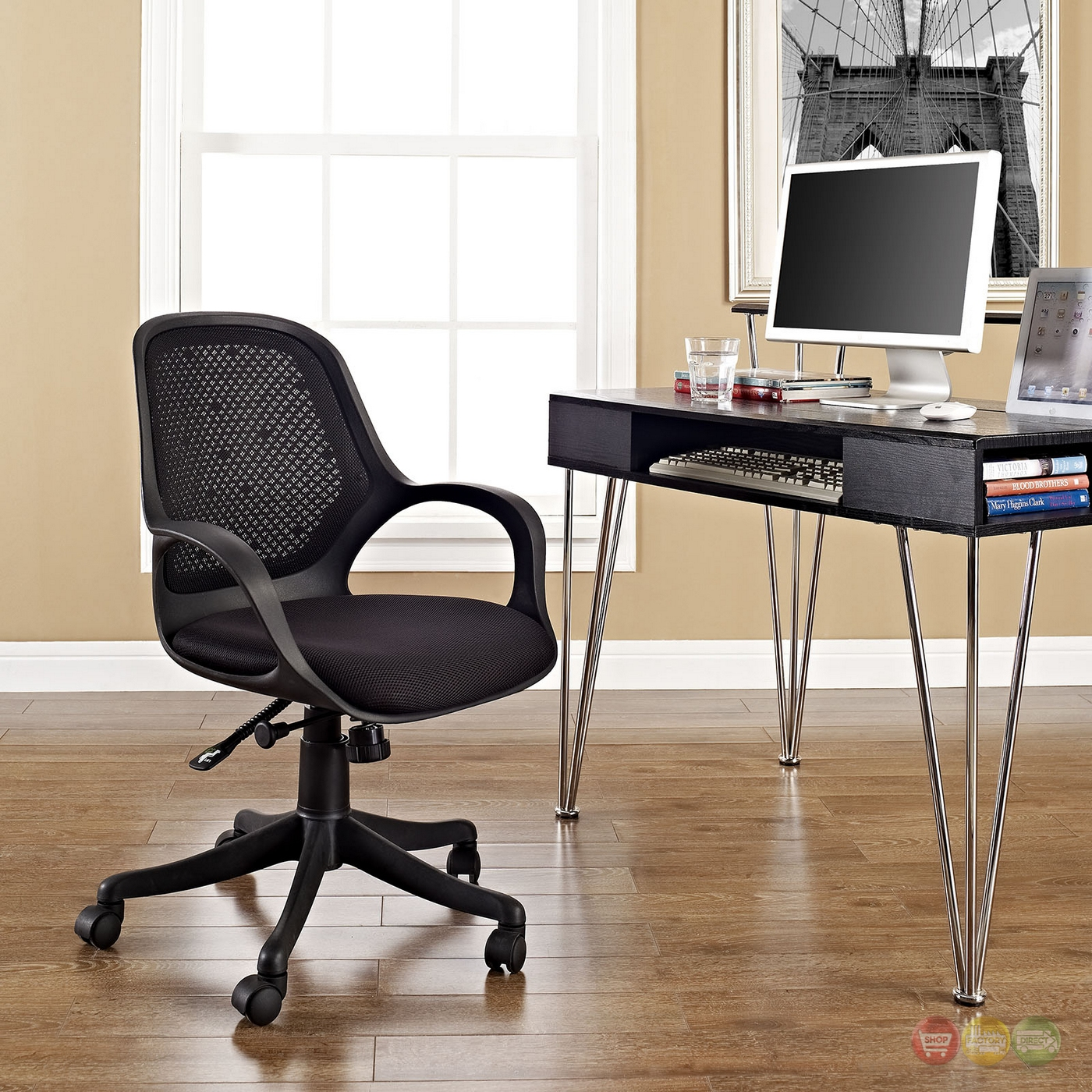 Mesh Ergonomic Office Chair Panorama Modern Ergonomic Adjustable Office Chair With