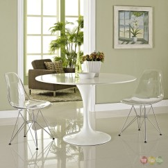 Clear Dining Chair Flexsteel Prices Paris Modern Transparent Side With Metal Base