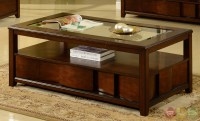 Parker House Transitional Coffee Occasional Tables TOSL