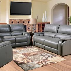 Living Room Chair Sets Tai Chi Gray Sofa Set Leather Shop