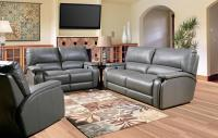 Gray Sofa Set | Gray Leather Living Room Set | Shop ...