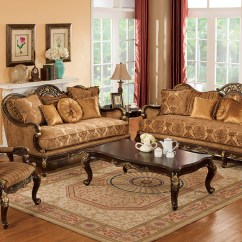 Ave Six Chair Best Camping Patricia Traditional Dark Wood Formal Living Room Sets With Carved Accents Rpcmo87