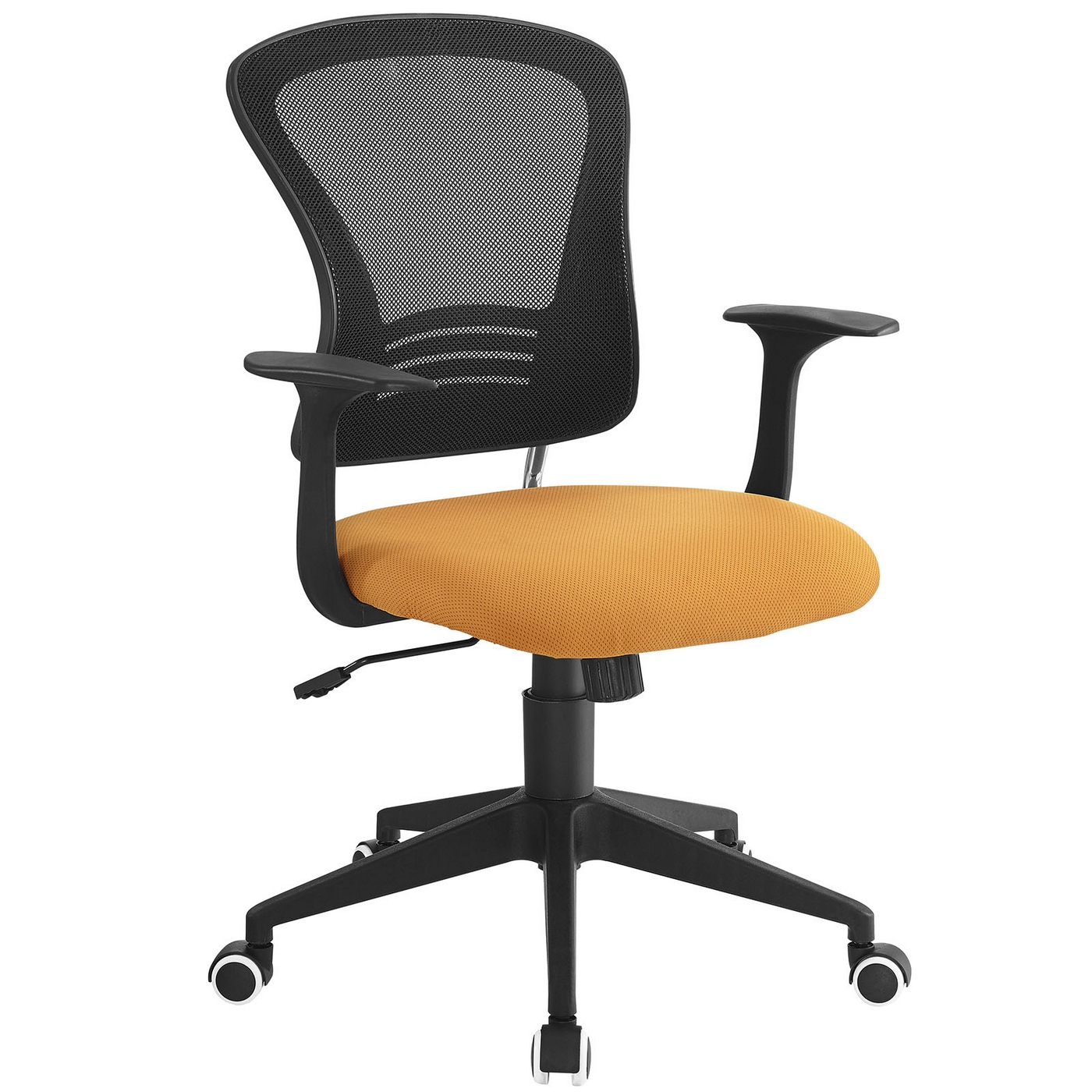 office chair orange mity lite poise modern ergonomic mesh back with lumbar