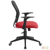Poise Modern Ergonomic Mesh Back Office Chair With Lumbar ...