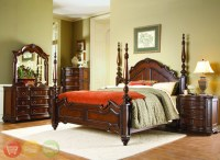 Prenzo Traditional Design Poster Bedroom Furniture Set ...