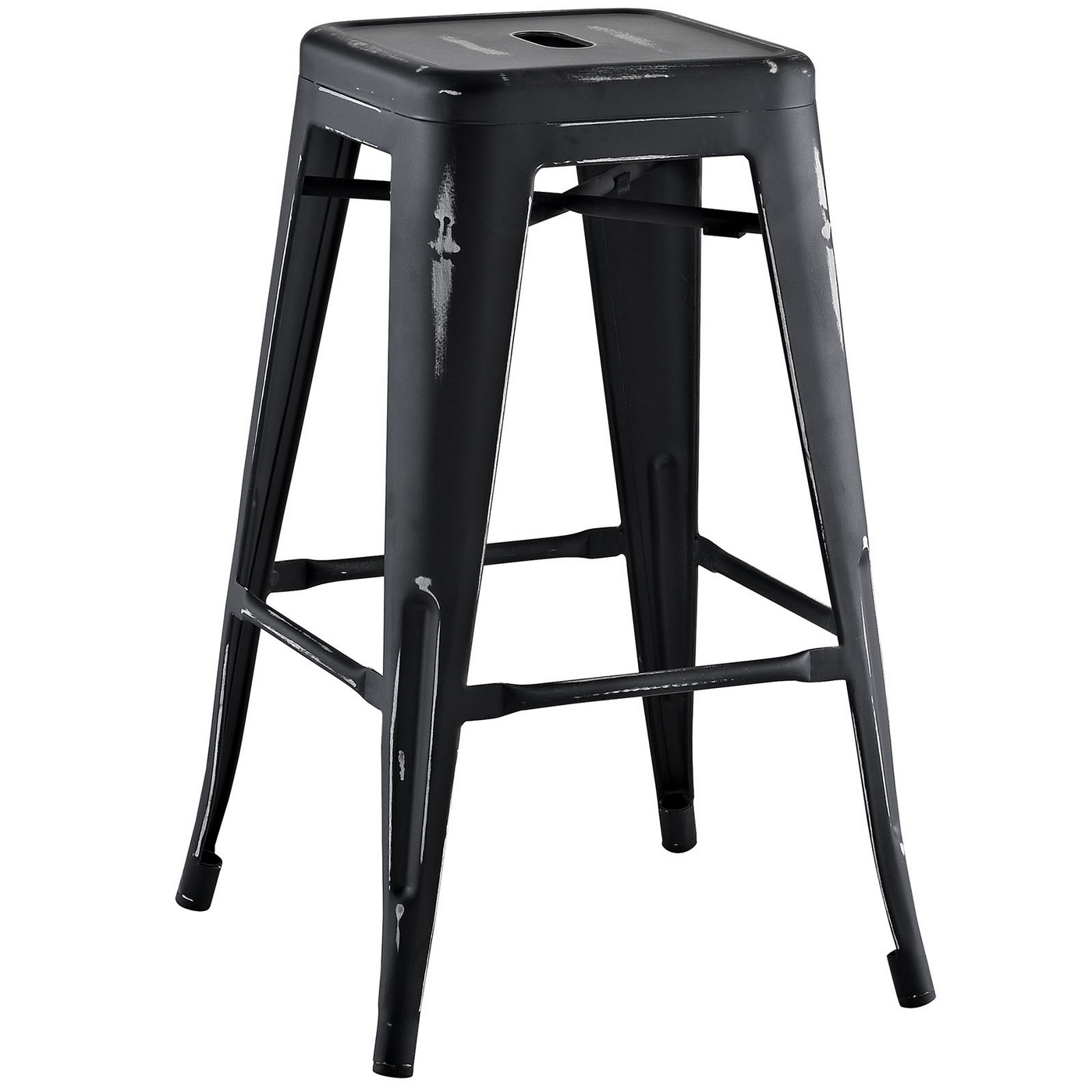Metal Counter Height Chairs Promenade Vintage Steel Counter Height Stool W Distressed
