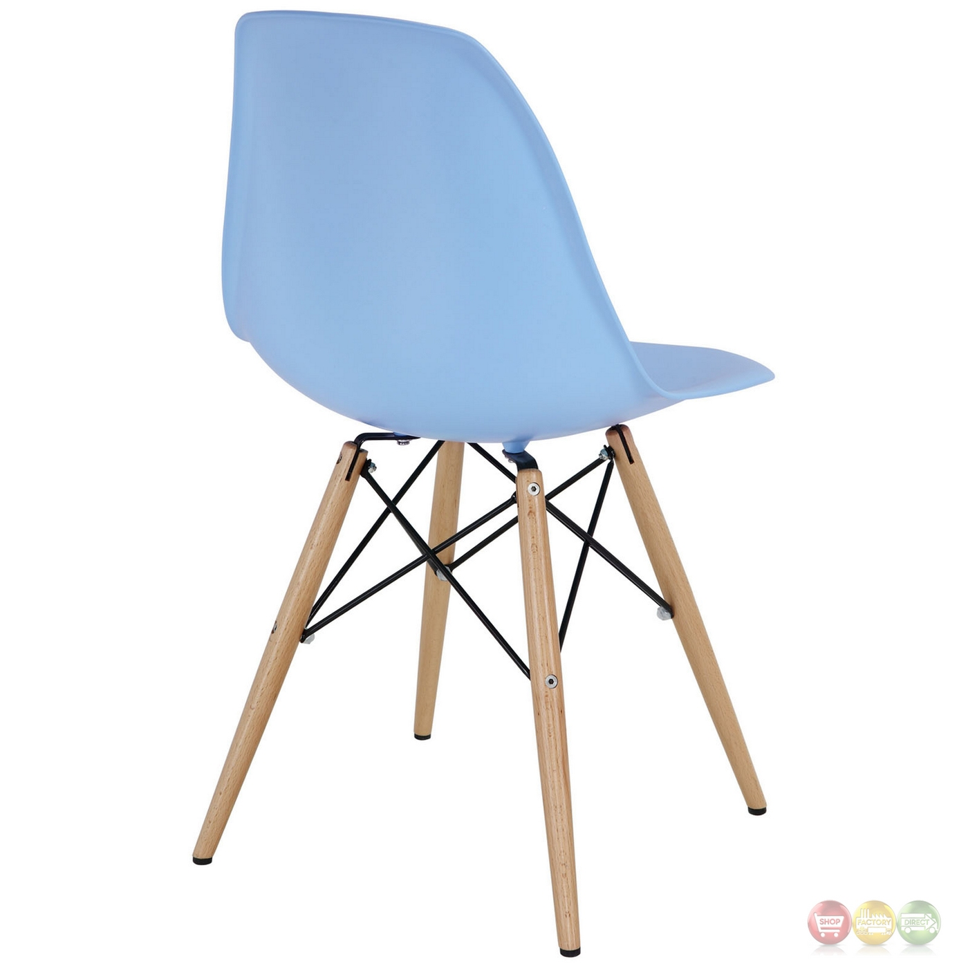 plastic chairs with steel legs fabric dining arms pyramid modern side chair wood and