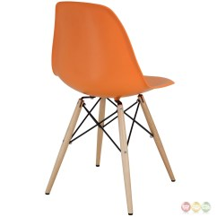 Plastic Chairs With Steel Legs Hammock Chair Stand Plans Pyramid Modern Side Wood And