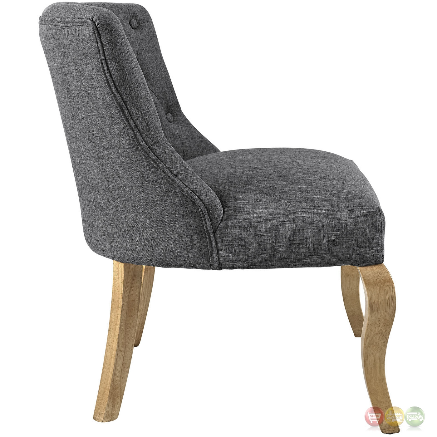 grey upholstered chair white legs set of 6 dining chairs royal modern french inspired accent with