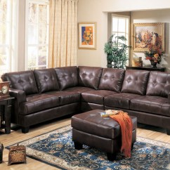 Baseball Leather Sofa Single Metal Futon Bed Samuel Brown Bonded Sectional Contemporary L