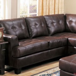 Coaster Samuel Bonded Leather Sofa Best Double Bed Uk Brown Sectional Contemporary L ...