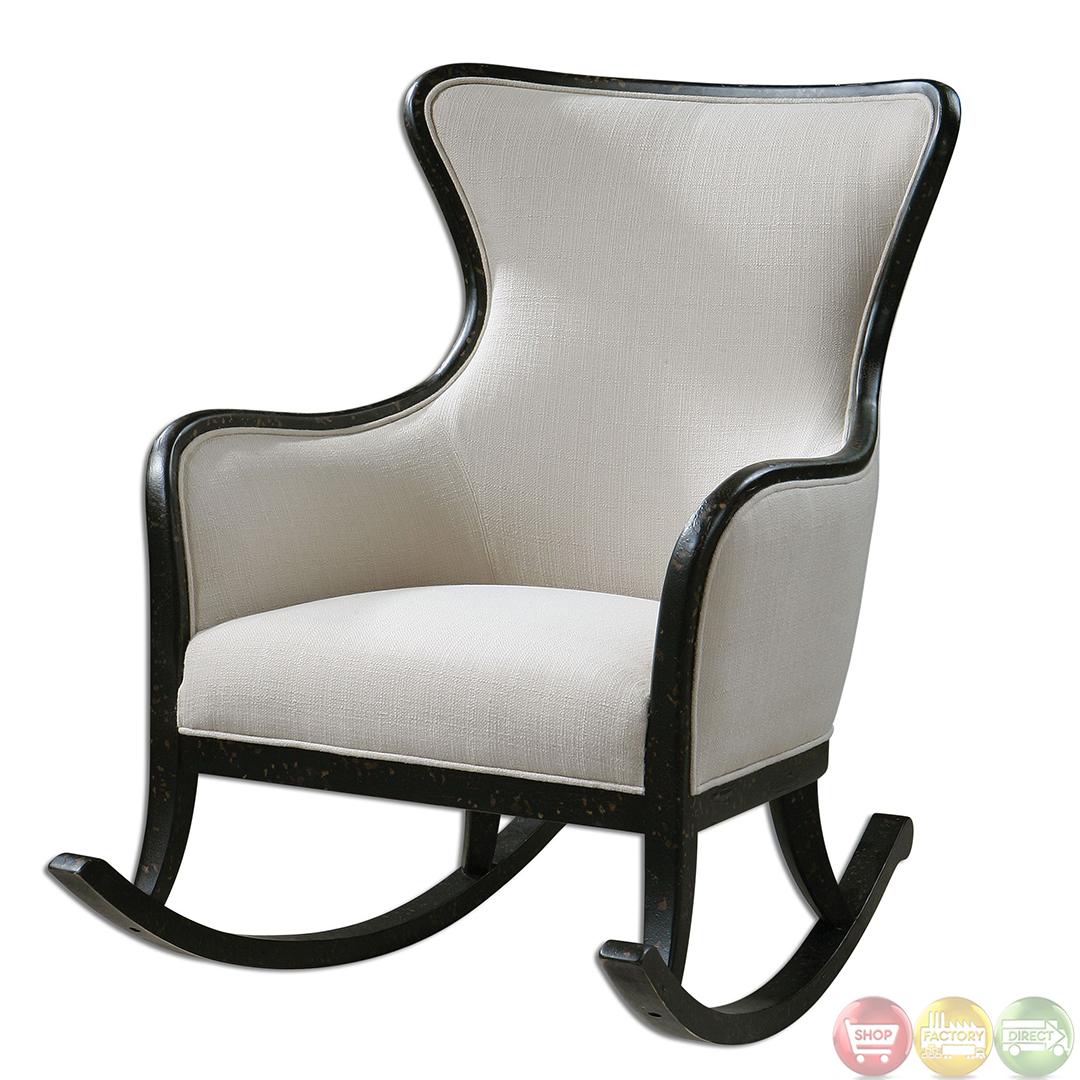 Sandy Traditional High Back Rocking Chair 23165