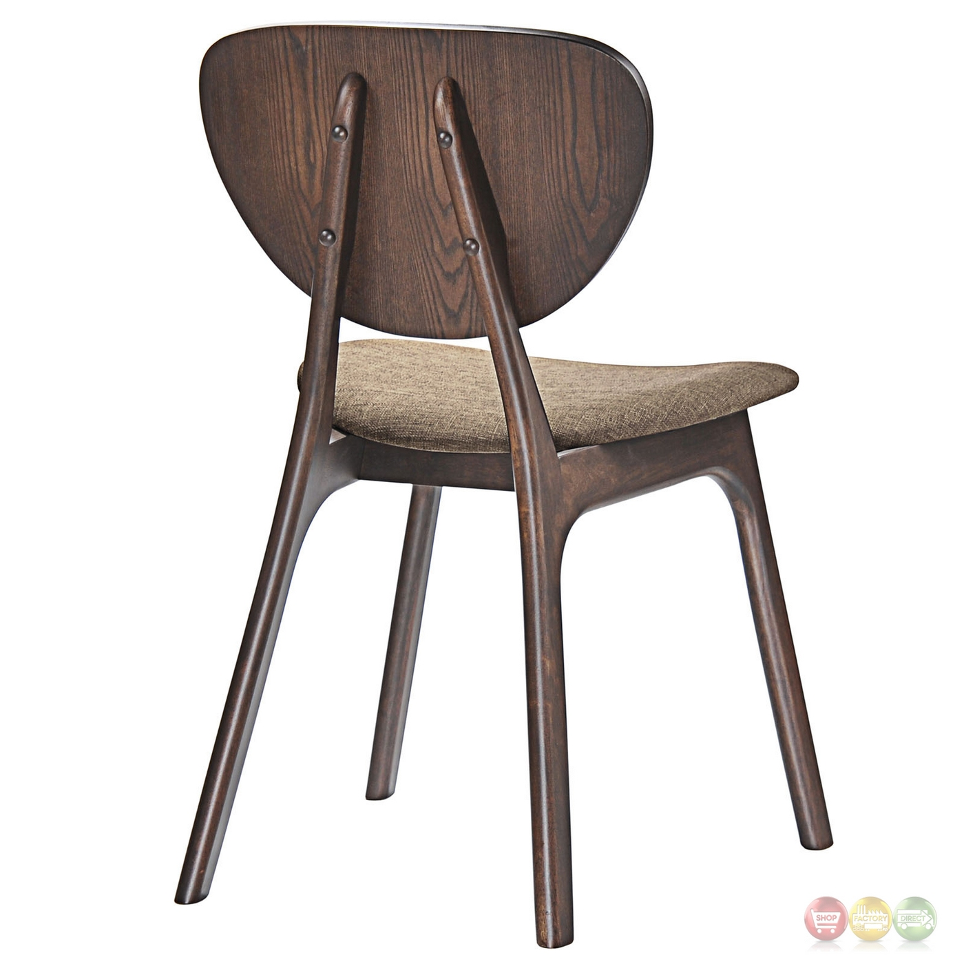 set of 2 dining chairs chromcraft kitchen chair parts murmur vintage modern wooden side