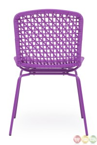Silvermine Bay Purple Dining Chair Zuo Modern 703056 ...