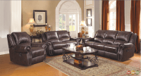 Sir Rawlinson Leather Motion Living Room Furniture ...