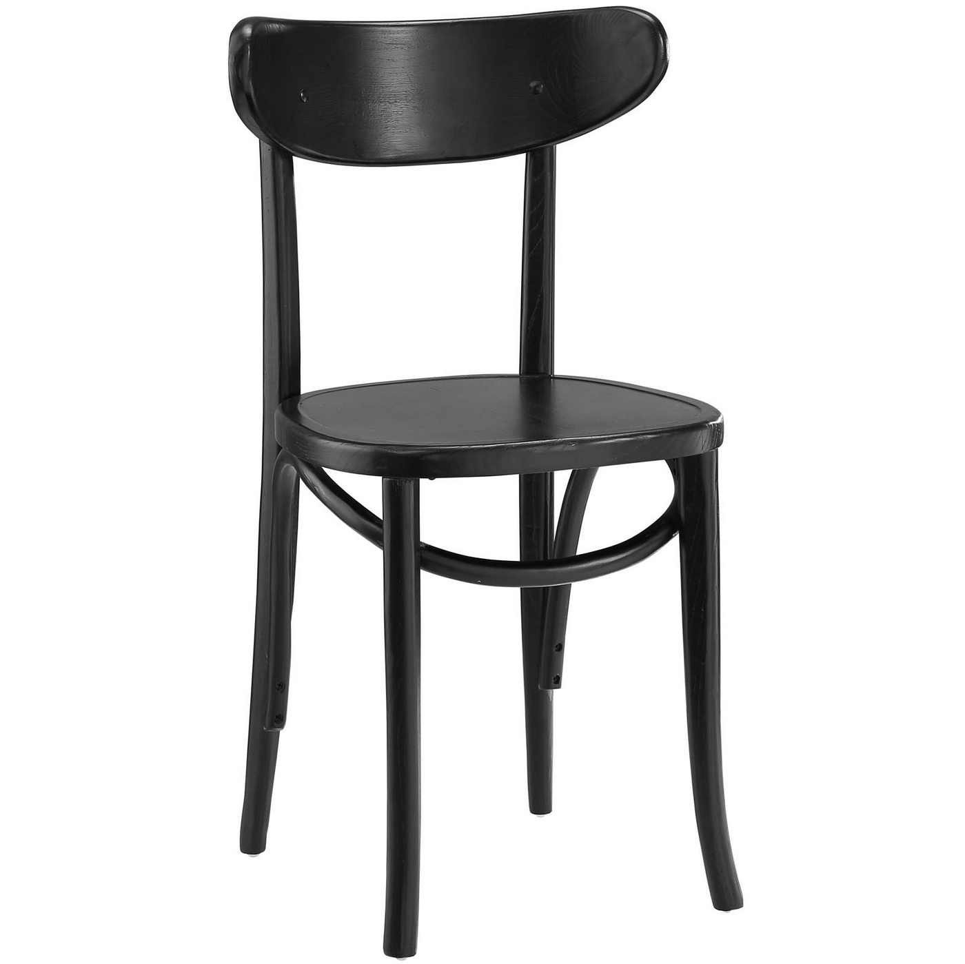 Dining Chairs Black Skate Contemporary Solid Wood Dining Side Chair With
