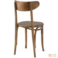 Skate Contemporary Solid Wood Dining Side Chair With ...