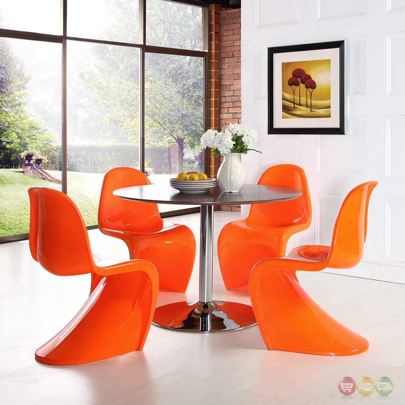 orange side chair railing ideas slither modernistic molded plastic quots quot shaped dining