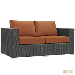 Outdoor Sofa Cushions Sunbrella How To Reupholster A Seat Cushion Sojourn Rattan 8pc Patio Sectional Set W