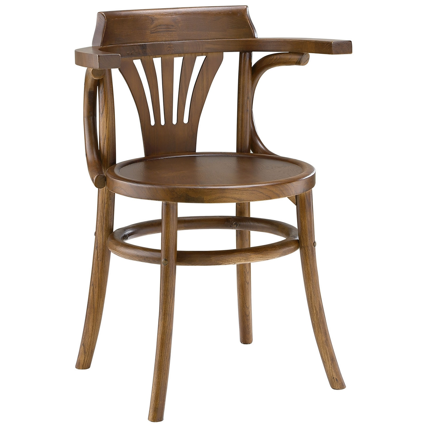round wooden chair club chairs with ottoman stretch modern rustic solid wood seat dining side