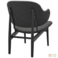 Wood Lounge Chairs Swivel Chair Base Suffuse Natural W Upholstered Padded