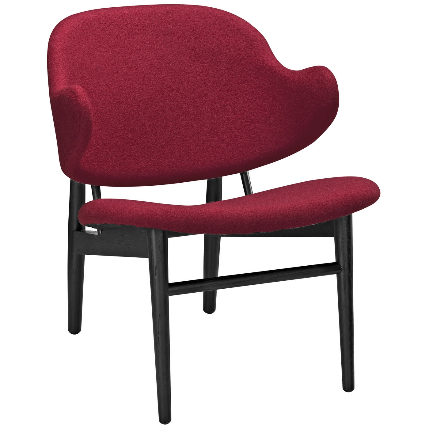 wood lounge chairs space saving suffuse natural chair w upholstered padded