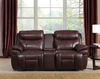Summerlands Powered 3pc Reclining Sofa Set In Genuine ...