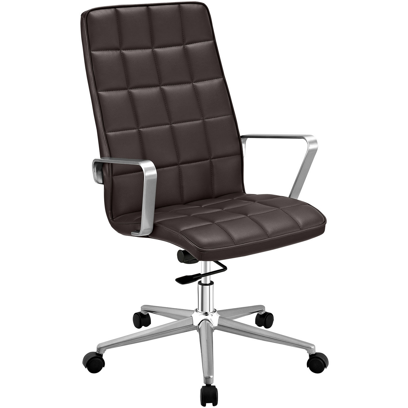 office chair high back outdoor swing chairs tile vinyl upholstered with tilt