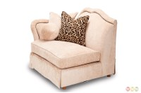 Toledo Traditional 7-piece Sectional Sofa in Beige with ...
