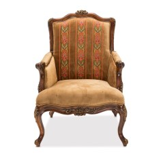 Wood Frame Accent Chairs Unique Office Chair Mats Sienna Victorial In Butterscotch With Carved
