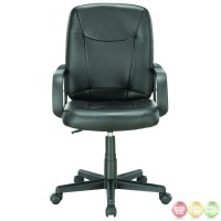 Turbo Contemporary Modern Mid Back Padded Office Computer ...