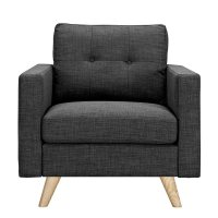 grey armchair cheap
