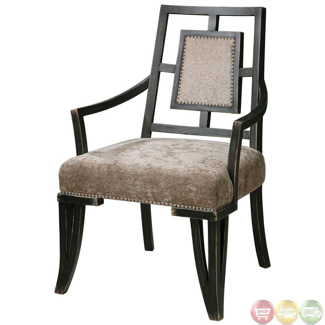 wood frame accent chairs how to clean patio alazne topaz upholstered chair 23184
