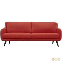 Sofa Frames For Upholstery Gaming Table Verve Mid Century Modern Upholstered With Wood Frame